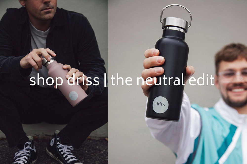 driss insulated hot cold drink flask water bottle
