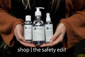 safety edit hand sanitiser gel anti-bacterial surface spray