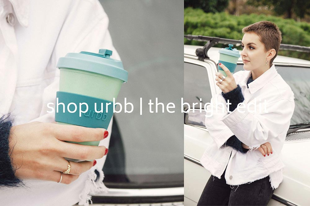 urbb reusable cups bright