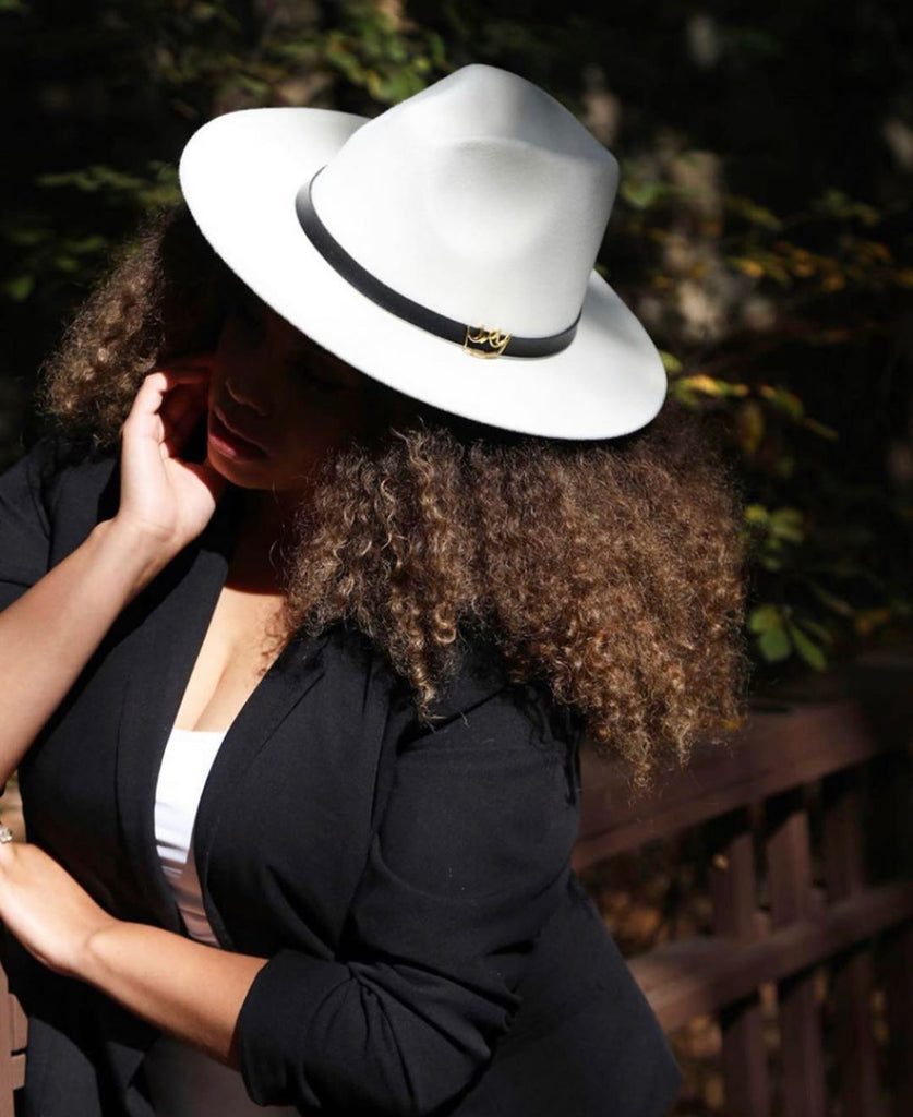 Mercy Fedora ( White )