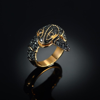 Black Mamba Ring - lavishblanc