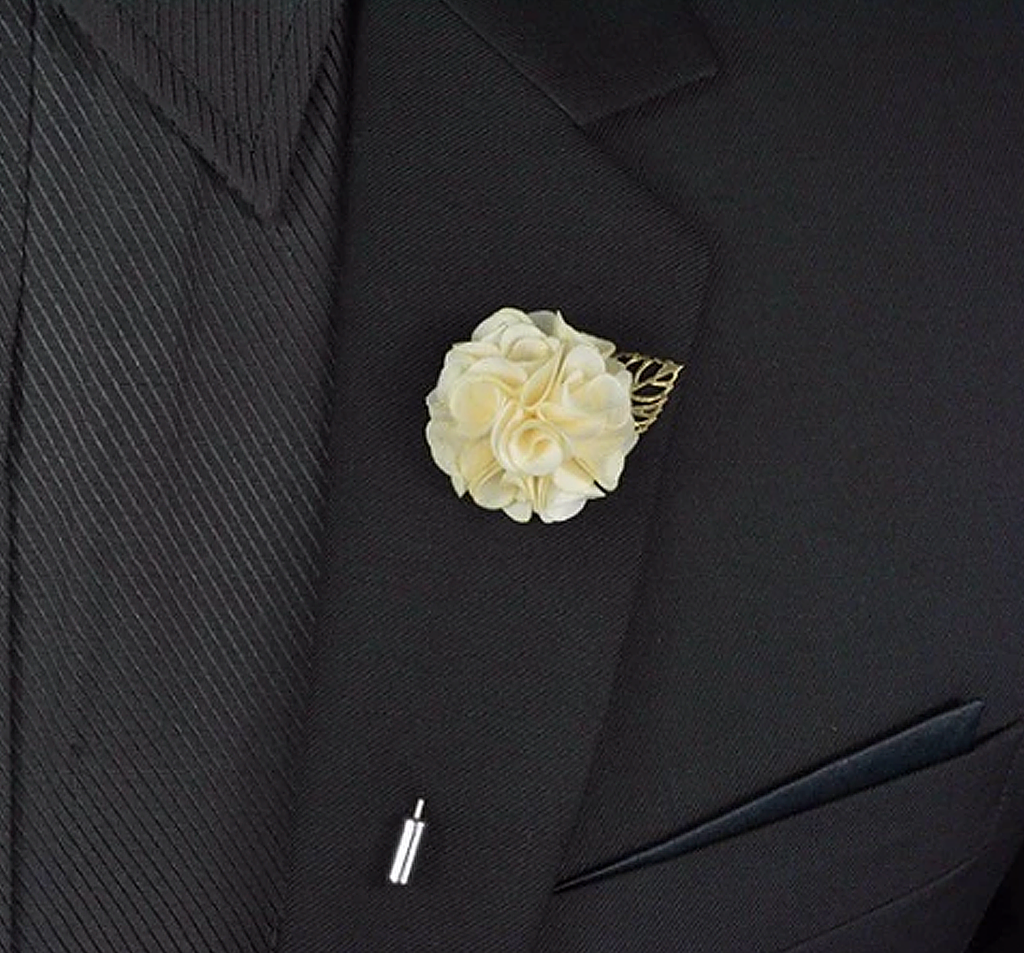 Lavish Lapel (Light Blue) - lavishblanc