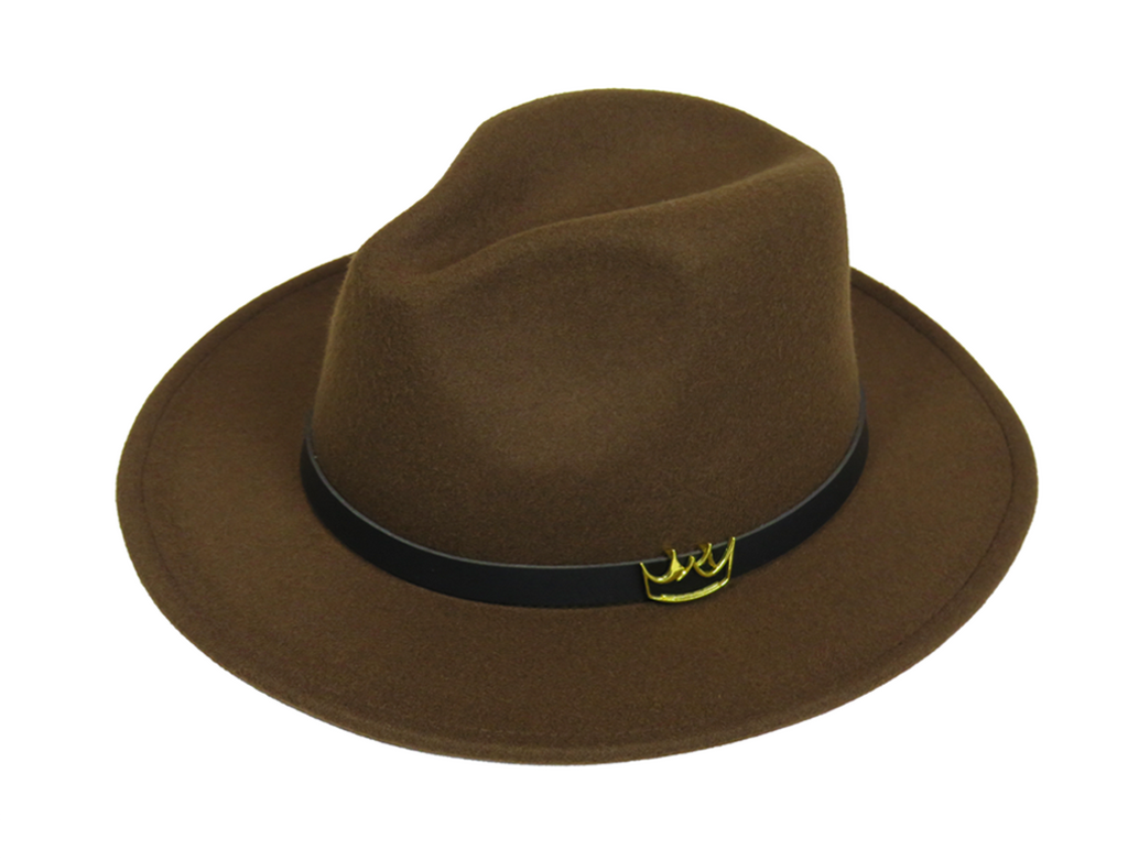 Mercy Fedora ( Brown ) - lavishblanc