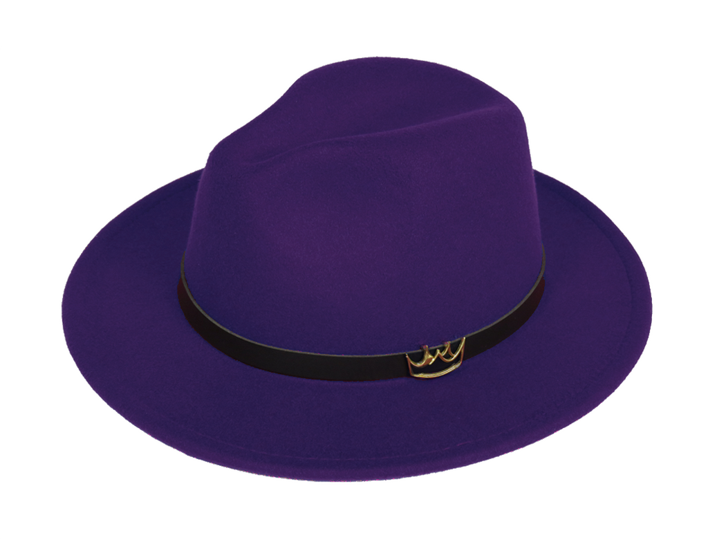 Mercy Fedora ( Purple ) - lavishblanc
