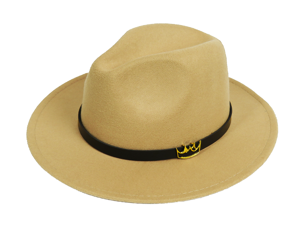 Mercy Fedora ( Tan )