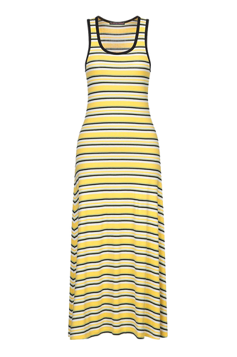 Stripe vest dress