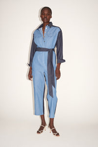 Jule Chambray Boiler Suit
