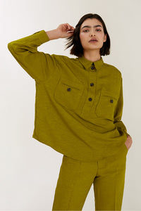 Indochine Oversized Textural Shirt