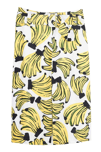 Bossa banana pencil skirt