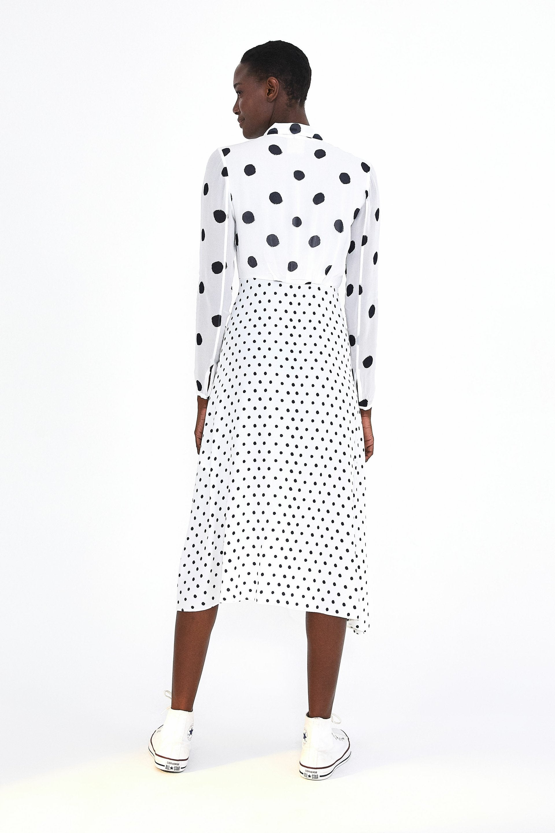 Onca dot dress