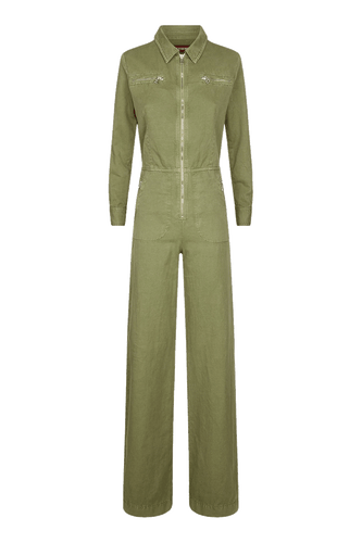 Washed Cotton Boilersuit