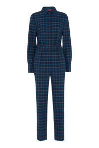 Roland Checked Jumpsuit
