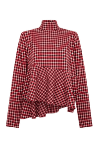 Red Tartan Top