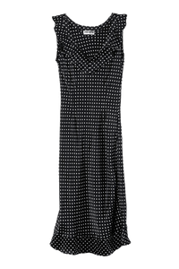 Silk polka-dot Federika dress