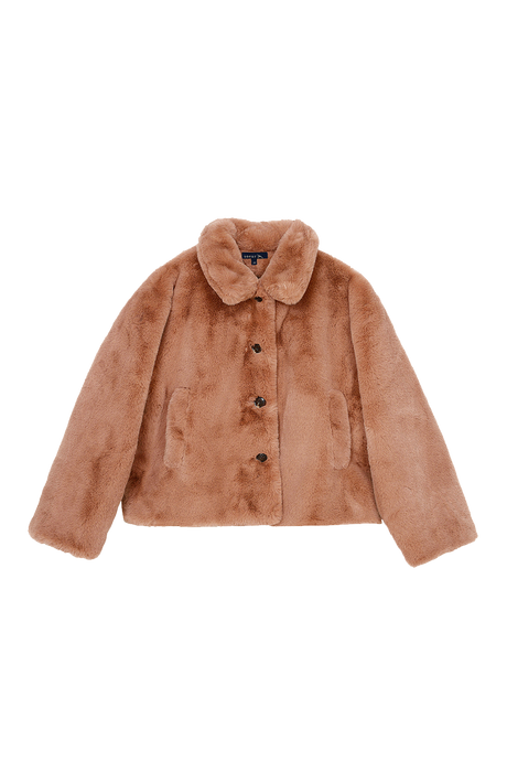 Guillemette Faux Fur Jacket
