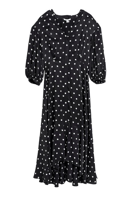 Vivian Polka Dot Midi Dress