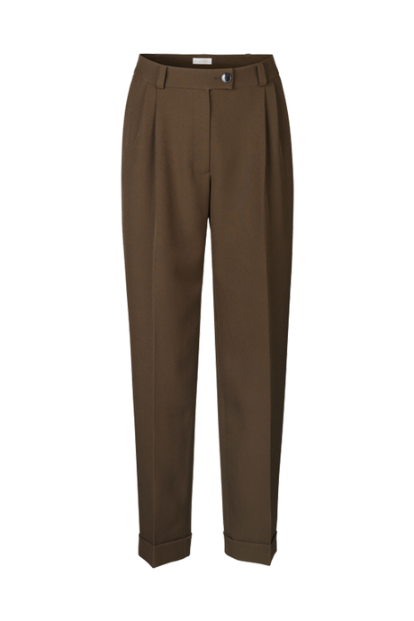 Laia Cedar Green Tailored Trousers
