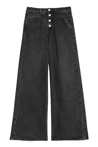 Peggy Denim Washed Black Jeans