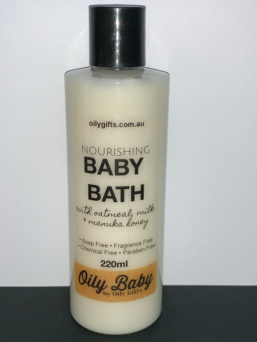 Nourishing BABY BATH ~Oily Baby~