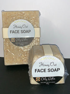 Honey Oat Face Soap Bar