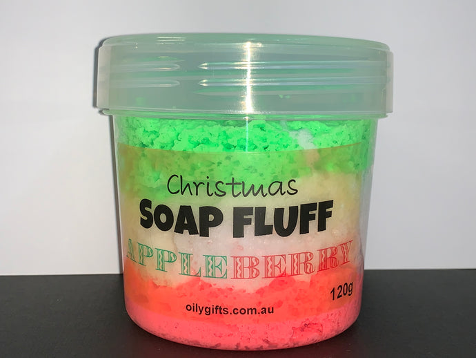 Christmas Soap Fluff