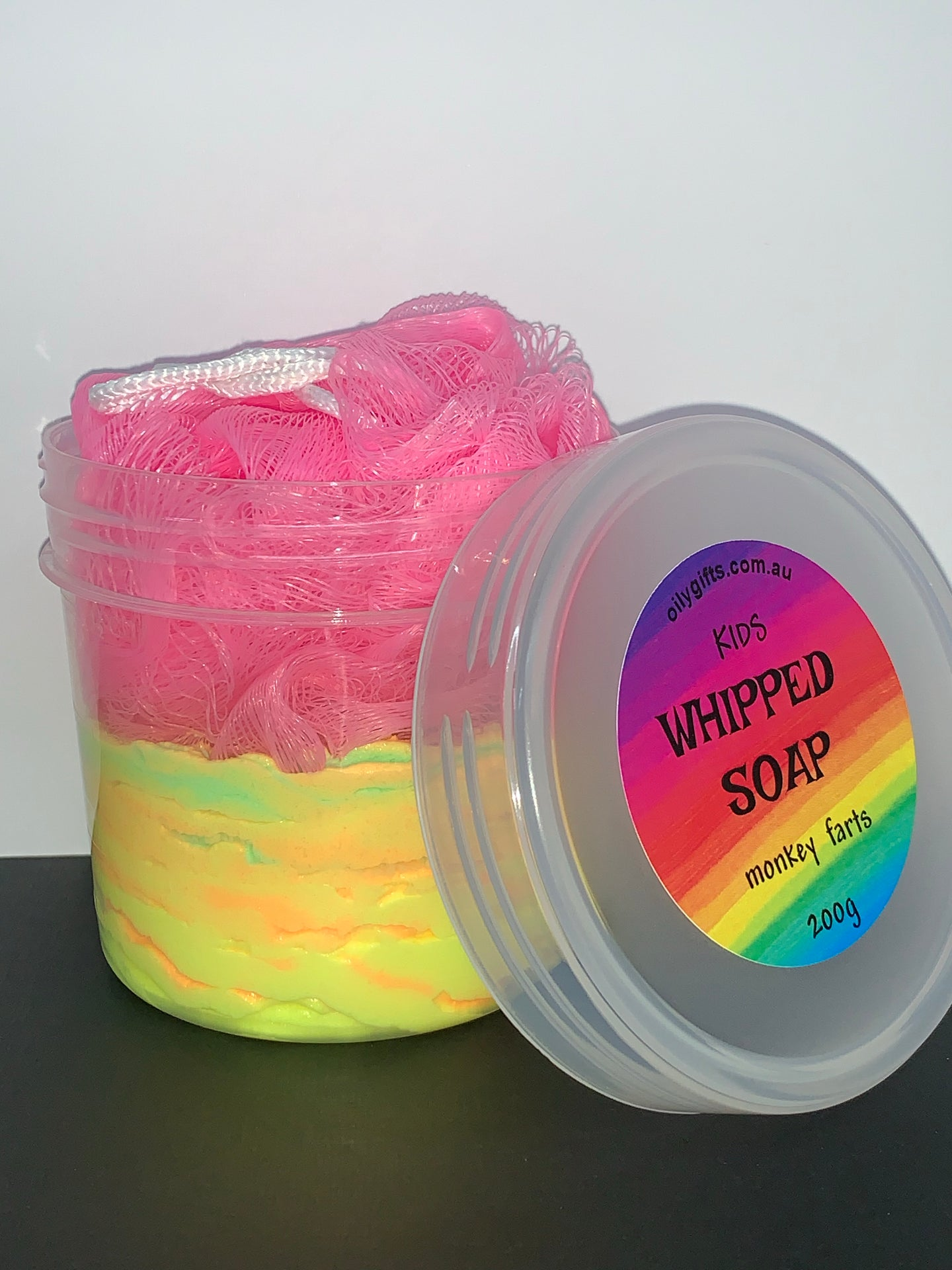 Kids Whipped Soap Set
