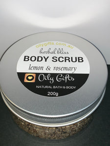 Exfoliating Body Scrubs