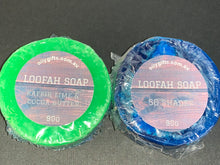 Load image into Gallery viewer, Mens Loofah Soap Bar