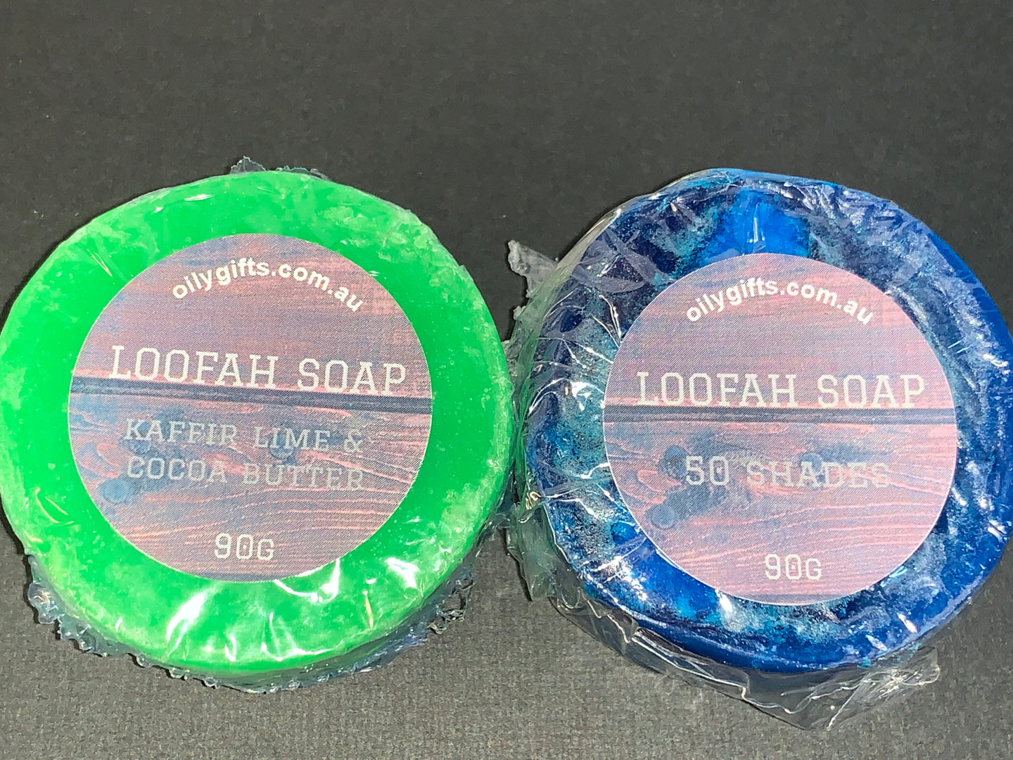 Mens Loofah Soap Bar