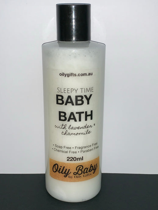 Sleepy Time BABY BATH ~Oily Baby~