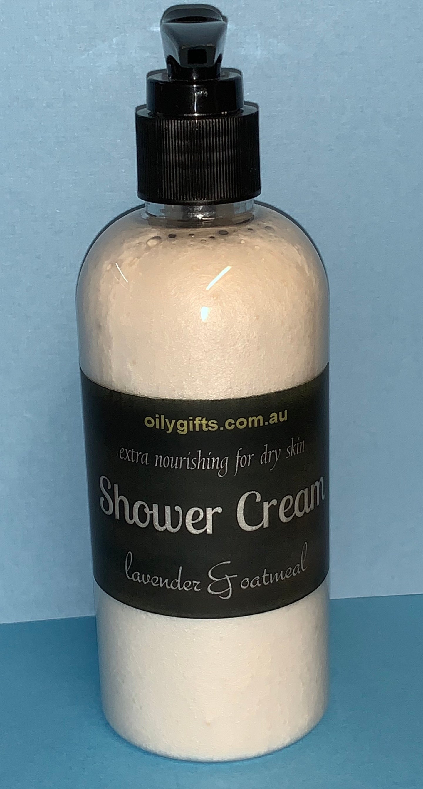 Shower Cream ~ Lavender & Oatmeal