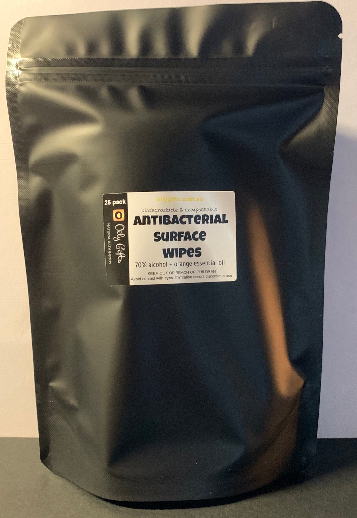 Antibacterial Surface Wipes 70% alcohol