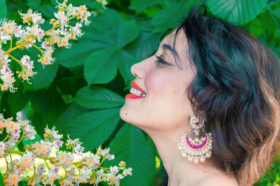 Kundan Earrings: Everything You Need to Know About Kundan