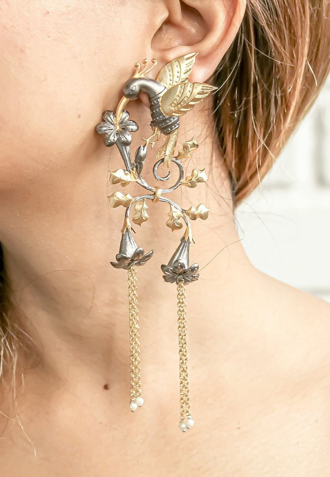 Ramayana Statement Earrings