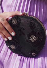 Load and play video in Gallery viewer, Benagil Black Clutch Bag