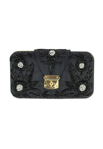 Sandra Black Clutch