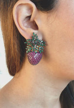 Load and play video in Gallery viewer, Wild Strawberry Earrings