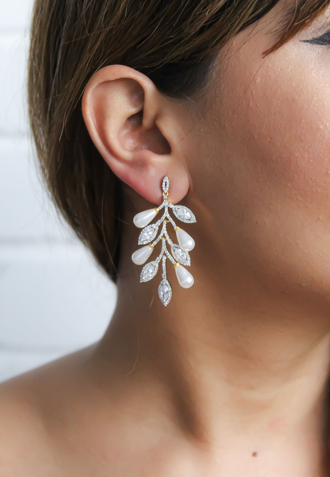 Frozen Zircon Earrings