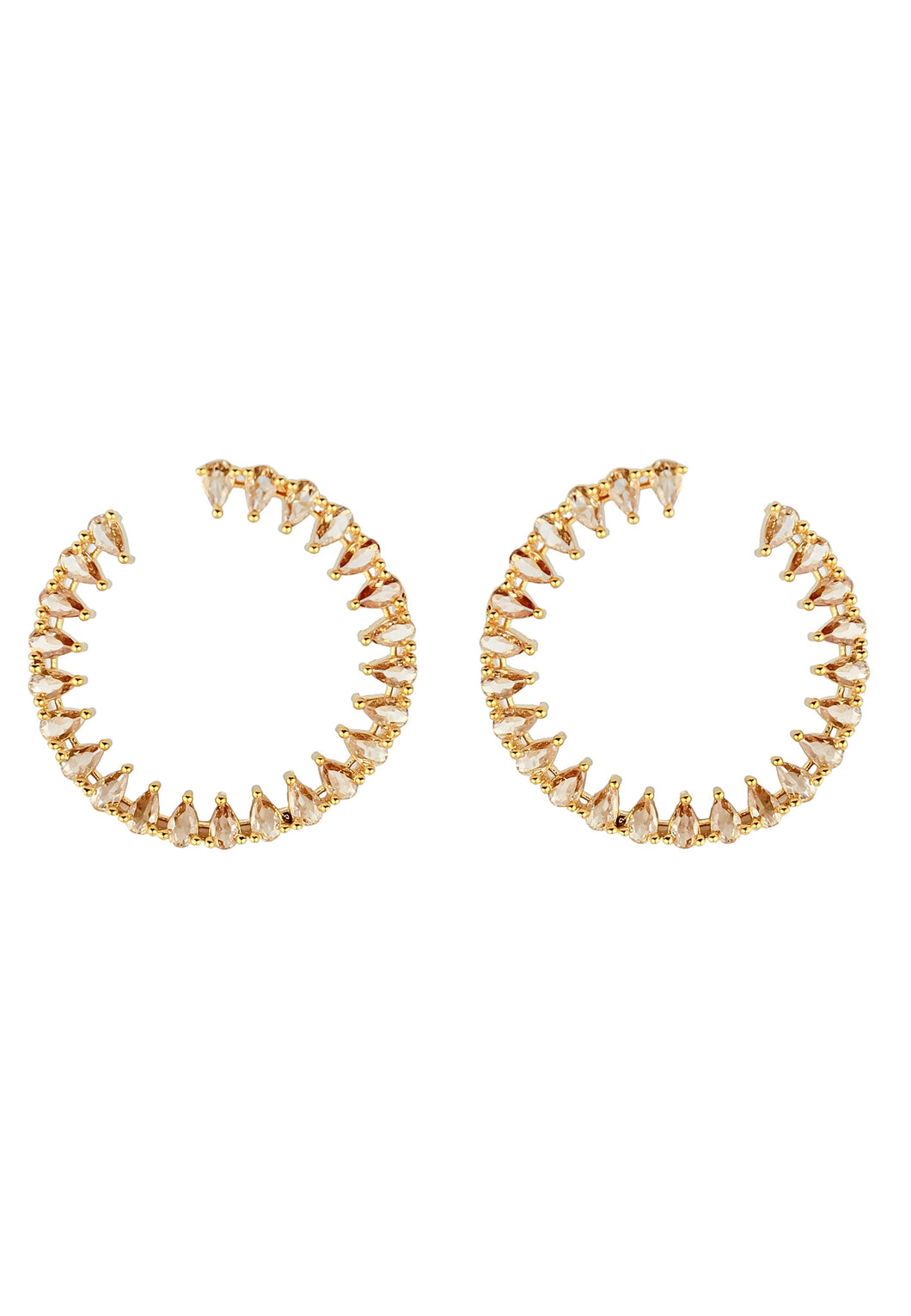 Ibiza Light Hoop Earrings