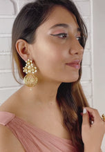 Load and play video in Gallery viewer, Dream Cage Earrings