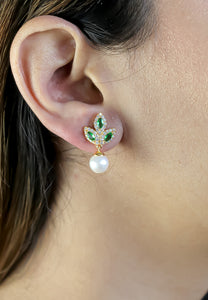 Golden Little flower Earrings