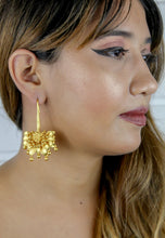 Load image into Gallery viewer, Golden Spring Hook Earrings