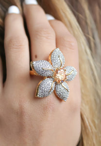 Zircons Lilly Ring