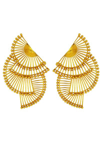 Anting Emas Tri-abanicho