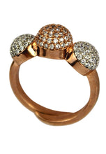 Load image into Gallery viewer, Monaco Ring with Zircon Stones