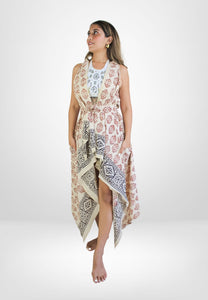Midnight Climber Long Golden Earrings