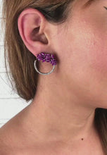 Load and play video in Gallery viewer, Salamander Earrings