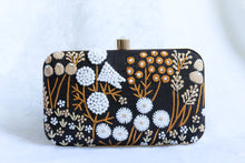 Load image into Gallery viewer, Lucia Black Clutch