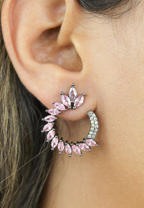 Green Floral Face-Mask