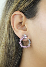 Load image into Gallery viewer, Green Floral Face-Mask
